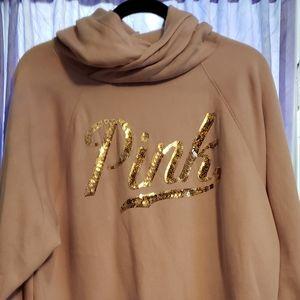 Vs pink pullover hoodie